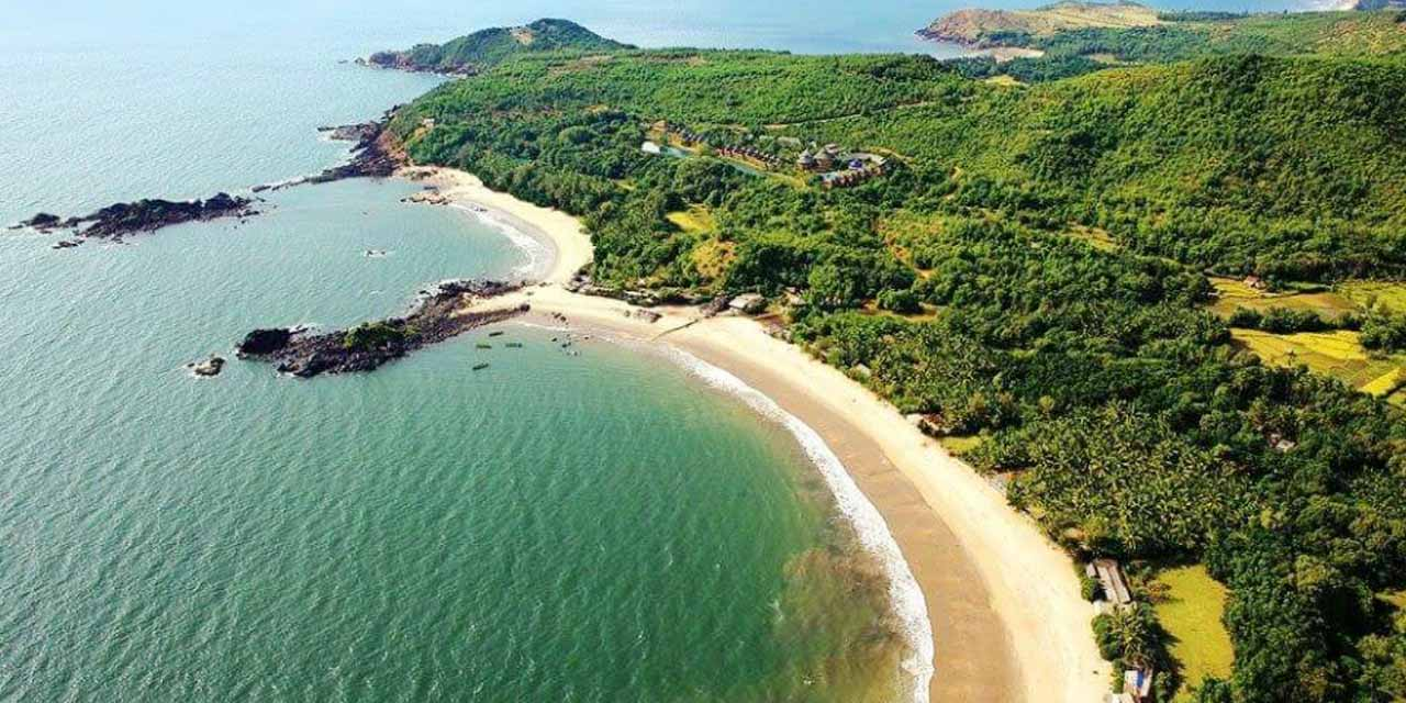 Unexplored beaches in India, Butterfly Beach, goa