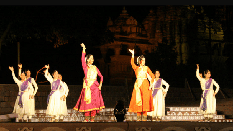 Dance festival at Kandariya, best place to visit in Khajuraho