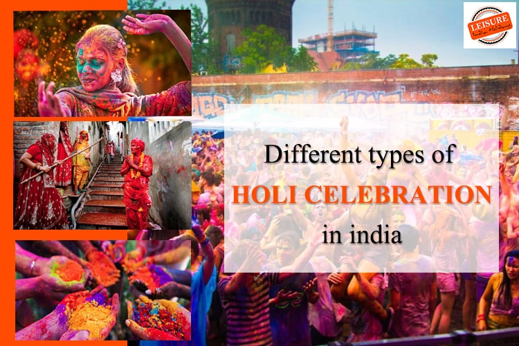 types of holi celebration in india