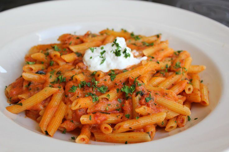 Penne pasta, one of the famous foods in jaipur