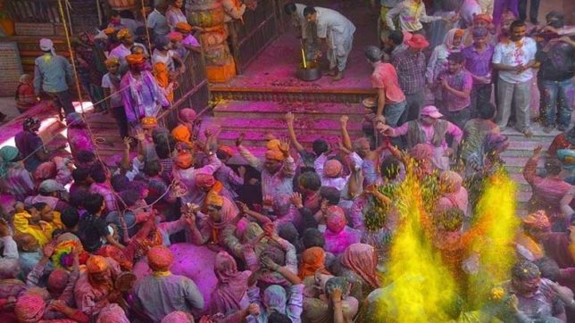 Phagunwa holi celebration in india