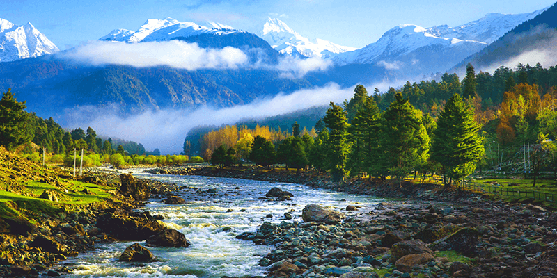 Pahalgam, A Picturesque honeymoon destination in India