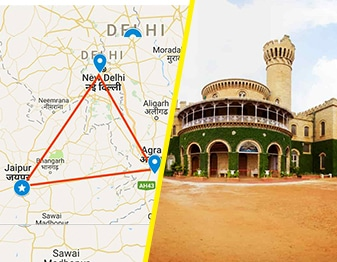 golden triangle tour packages from bangalore
