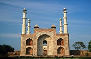 Tomb of Akbar the Great in Agra