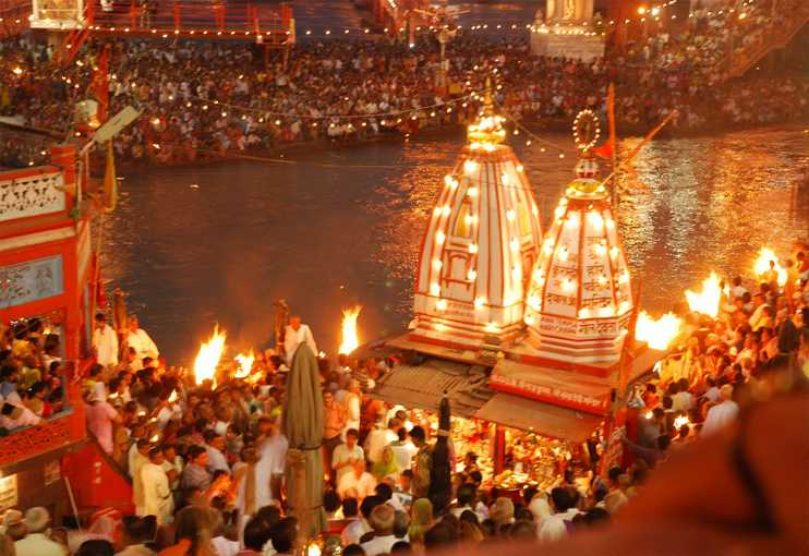 Evening Aarti in Haridwar