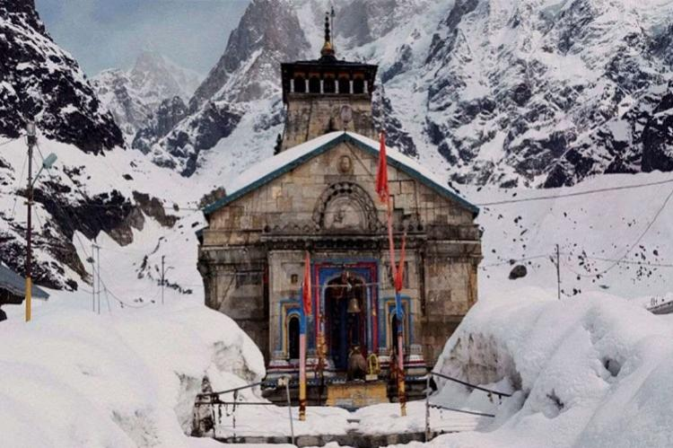 Kedarnath in Winter